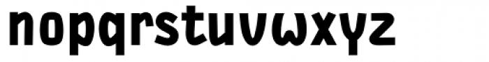 DF Staple TXT Black Font LOWERCASE