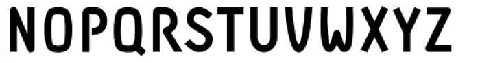 DF Staple TXT Heavy Font UPPERCASE