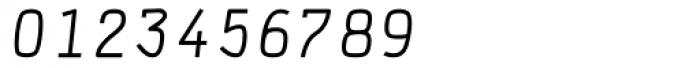 DF Staple TXT Italic Caps Font OTHER CHARS
