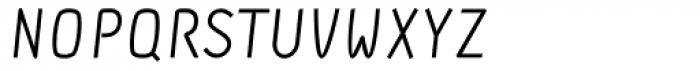 DF Staple TXT Italic Caps Font LOWERCASE