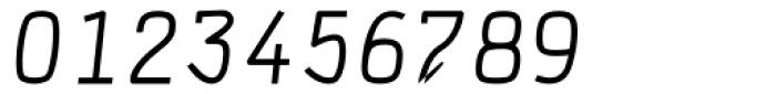 DF Staple TXT Medium Italic Font OTHER CHARS