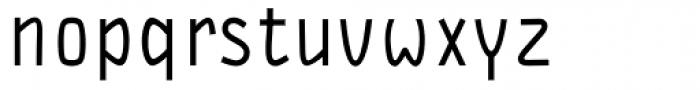 DF Staple TXT Medium Font LOWERCASE