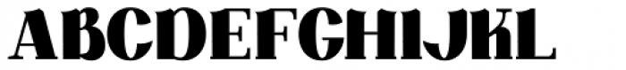 DG Zanardini Bold Font UPPERCASE