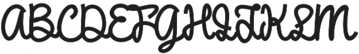 DHF Broffont Script otf (400) Font UPPERCASE