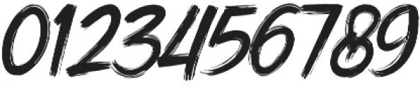 DHF Dexsar Brush Regular otf (400) Font OTHER CHARS