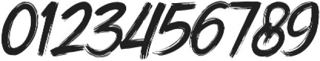 DHF Dexsar Brush Regular ttf (400) Font OTHER CHARS