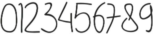DHF Happy Birthday Ryan Allcaps Regular otf (400) Font OTHER CHARS