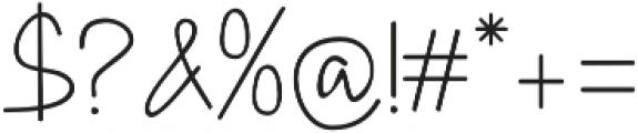 DHF Happy Birthday Ryan Regular otf (400) Font OTHER CHARS