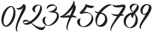 DHF Milestone Script otf (400) Font OTHER CHARS