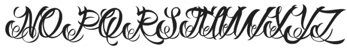 DHF Milestone Script otf (400) Font UPPERCASE