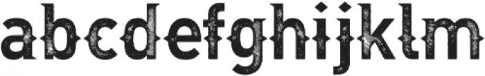 Dhangdose otf (400) Font LOWERCASE
