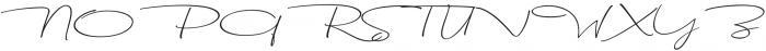 Dhanikans Signature Italic otf (400) Font UPPERCASE