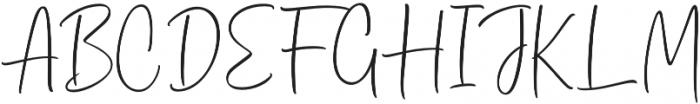 Dhanikans Signature otf (400) Font UPPERCASE