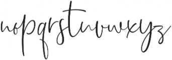 Dhanikans Signature otf (400) Font LOWERCASE