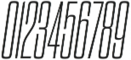 Dharma Gothic C ExLight Italic otf (300) Font OTHER CHARS
