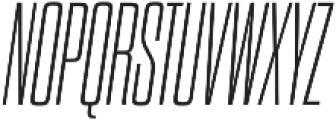 Dharma Gothic C ExLight Italic otf (300) Font UPPERCASE
