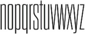 Dharma Gothic C ExLight otf (300) Font LOWERCASE