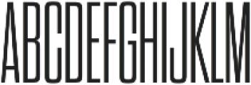 Dharma Gothic C Light otf (300) Font UPPERCASE