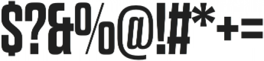 Dharma Gothic E Bold otf (700) Font OTHER CHARS