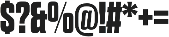Dharma Gothic E ExBold otf (700) Font OTHER CHARS