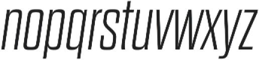 Dharma Gothic E ExLight Italic otf (300) Font LOWERCASE