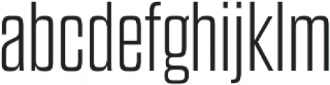 Dharma Gothic E ExLight otf (300) Font LOWERCASE