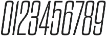Dharma Gothic M ExLight Italic otf (300) Font OTHER CHARS