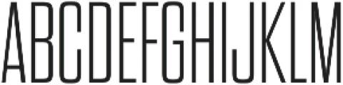 Dharma Gothic M ExLight otf (300) Font UPPERCASE