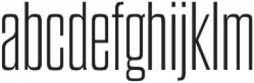 Dharma Gothic M ExLight otf (300) Font LOWERCASE