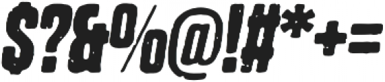 Dharma Gothic P Bold Italic otf (700) Font OTHER CHARS