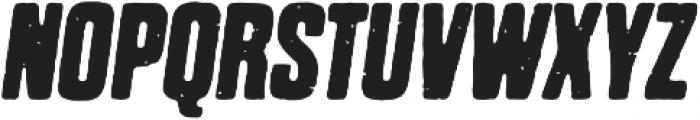 Dharma Gothic P Bold Italic otf (700) Font UPPERCASE