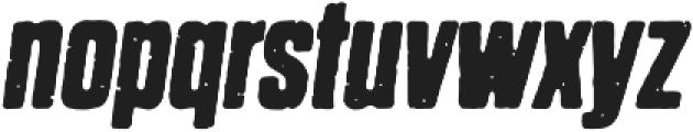 Dharma Gothic P Bold Italic otf (700) Font LOWERCASE