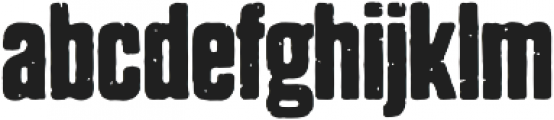 Dharma Gothic P Bold otf (700) Font LOWERCASE