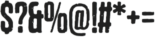 Dharma Gothic P Regular otf (400) Font OTHER CHARS