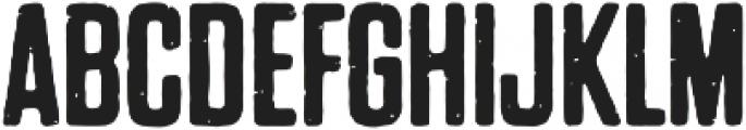 Dharma Gothic P Regular otf (400) Font UPPERCASE