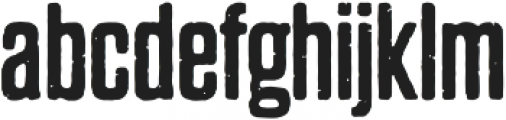 Dharma Gothic P Regular otf (400) Font LOWERCASE