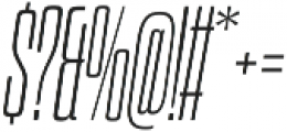 Dharma Slab C ExLight Italic otf (300) Font OTHER CHARS