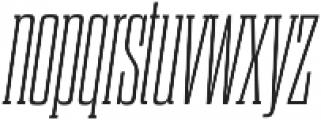 Dharma Slab C ExLight Italic otf (300) Font LOWERCASE
