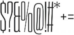 Dharma Slab C ExLight otf (300) Font OTHER CHARS