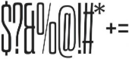 Dharma Slab C Light otf (300) Font OTHER CHARS