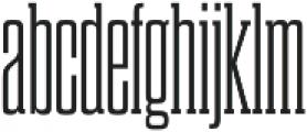 Dharma Slab C Light otf (300) Font LOWERCASE