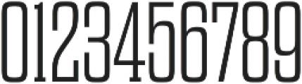 Dharma Slab E ExLight otf (300) Font OTHER CHARS