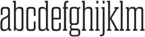 Dharma Slab E ExLight otf (300) Font LOWERCASE