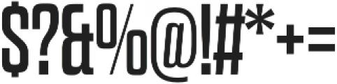 Dharma Slab E Regular otf (400) Font OTHER CHARS