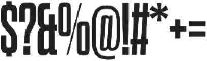 Dharma Slab M Bold otf (700) Font OTHER CHARS