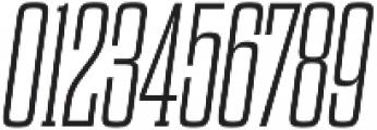Dharma Slab M ExLight Italic otf (300) Font OTHER CHARS