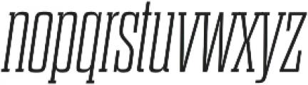 Dharma Slab M ExLight Italic otf (300) Font LOWERCASE
