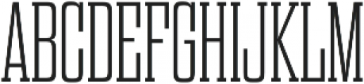 Dharma Slab M ExLight otf (300) Font UPPERCASE