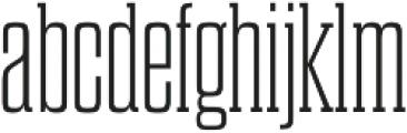 Dharma Slab M ExLight otf (300) Font LOWERCASE