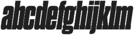 Dharma Slab M Heavy Italic otf (800) Font LOWERCASE